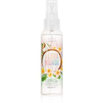 Avon Naturals Aloha Monoi osvěžující tělový sprej pro ženy 100 ml