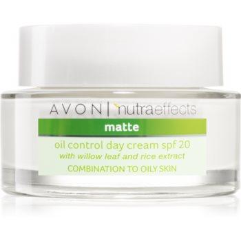Avon Nutra Effects Matte matující denní krém SPF 20 50 ml