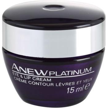 Avon Anew Platinum crema zona ochilor si a buzelor imagine 2021 notino.ro