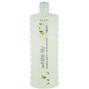 Avon Bubble Bath White Lily spuma de baie imagine 2021 notino.ro