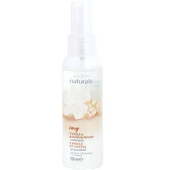 Avon Naturals Fragrance spray racoritor de corp cu vanilie si lemn de santal imagine 2021 notino.ro