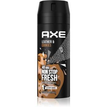 Axe Collision Leather + Cookies spray şi deodorant pentru corp imagine 2021 notino.ro