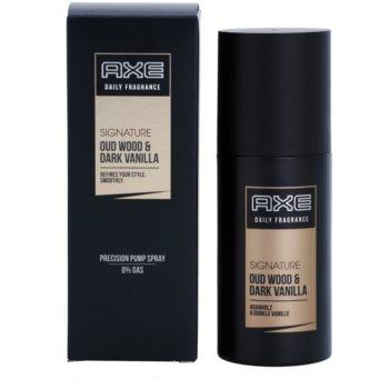 Axe Signature Oud Wood and Dark Vanilla spray pentru corp pentru bărbați