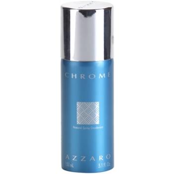 Azzaro Chrome deodorant spray (unboxed) pentru bărbați