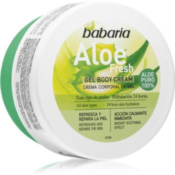 Babaria Aloe Vera gel hidratant pentru corp pentru toate tipurile de piele imagine 2021 notino.ro