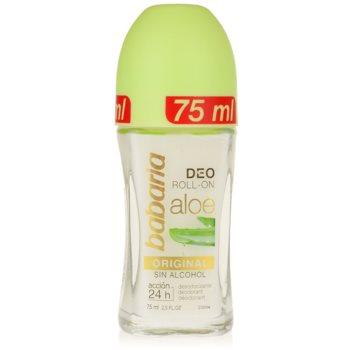 Babaria Aloe Vera Deodorant roll-on cu aloe vera imagine 2021 notino.ro