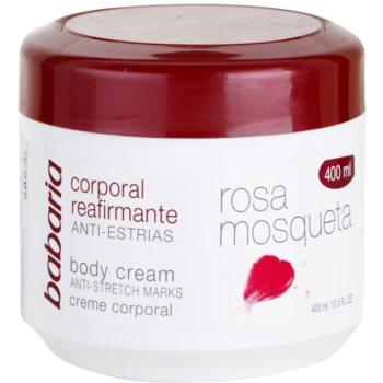 Babaria Rosa Mosqueta crema de corp pentru fermitatea pielii cu extracte de trandafiri salbatici notino.ro