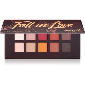 Barry M Fall in Love paletă cu farduri de ochi cu oglinda mica imagine 2021 notino.ro