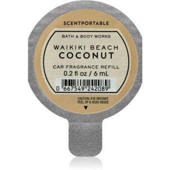 Bath & Body Works Waikiki Beach Coconut parfum pentru masina Refil