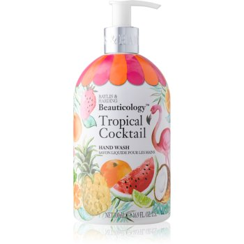 Baylis & Harding Beauticology Tropical Cocktail Săpun lichid pentru mâini imagine 2021 notino.ro
