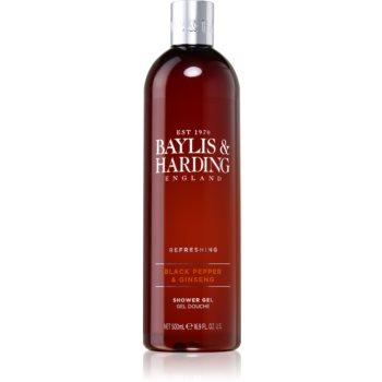 Baylis & Harding Black Pepper & Ginseng gel de duș imagine 2021 notino.ro