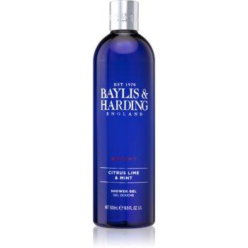 Baylis & Harding Men's Citrus Lime & Mint gel de duș imagine 2021 notino.ro