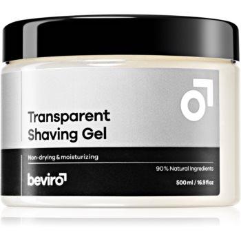 Beviro Transparent Shaving Gel gel pentru bărbierit pentru barbati imagine 2021 notino.ro