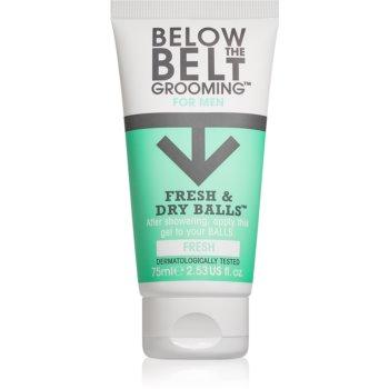 Below the Belt Grooming Fresh gel pentru părțile intime pentru bărbați imagine 2021 notino.ro