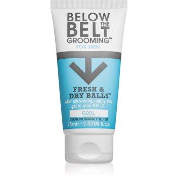 Below the Belt Grooming Cool gel pentru părțile intime pentru bărbați imagine 2021 notino.ro