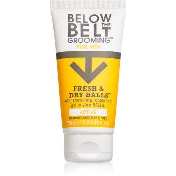 Below the Belt Grooming Active gel pentru părțile intime pentru bărbați imagine 2021 notino.ro