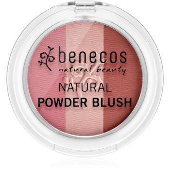 Benecos Natural Beauty blush trio imagine 2021 notino.ro