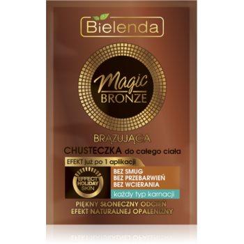 Bielenda Magic Bronze șervețel autobronzant pentru toate tipurile de piele imagine 2021 notino.ro