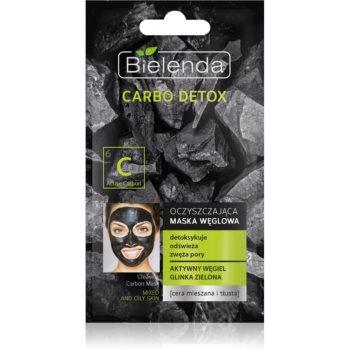 Bielenda Carbo Detox Active Carbon Masca de curățare cu cărbune pentru ten gras și mixt imagine 2021 notino.ro