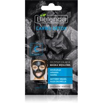 Bielenda Carbo Detox Active Carbon Masca de curățare cu cărbune pentru piele uscata spre sensibila imagine 2021 notino.ro