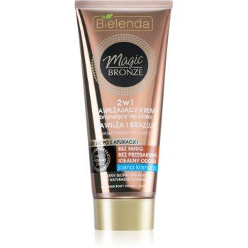 Bielenda Magic Bronze crema de auto-bronzare pentru piele deschisa cu efect de hidratare imagine 2021 notino.ro
