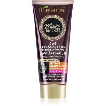 Bielenda Magic Bronze Crema pentru bronzare pielea inchisa la culoare cu efect de hidratare imagine 2021 notino.ro