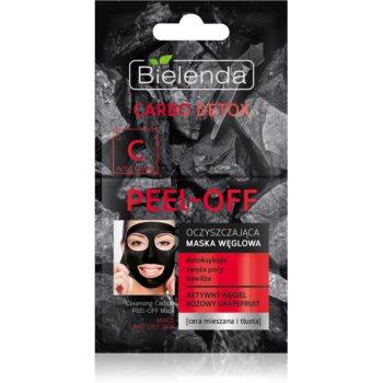 Bielenda Carbo Detox Active Carbon mască facială de acoperire cu cărbune activ pentru ten gras și mixt imagine 2021 notino.ro