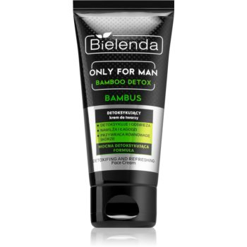 Bielenda Only for Men Bamboo Detox crema detoxifianta pentru barbati imagine 2021 notino.ro