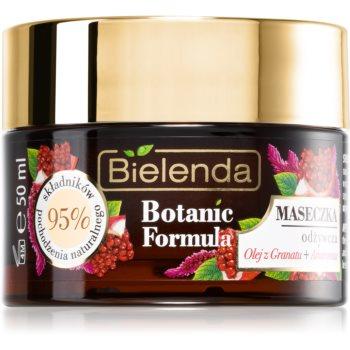 Bielenda Botanic Formula Pomegranate Oil + Amaranth masca hidratanta si hranitoare imagine 2021 notino.ro