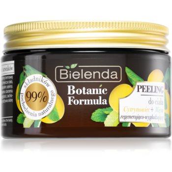 Bielenda Botanic Formula Lemon Tree Extract + Mint exfoliant de corp pentru matifiere imagine 2021 notino.ro