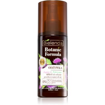 Bielenda Botanic Formula Burdock + Nettle conditioner Spray Leave-in pentru par gras imagine 2021 notino.ro
