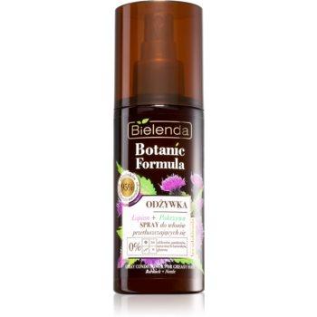 Bielenda Botanic Formula Burdock + Nettle conditioner Spray Leave-in pentru par gras notino.ro