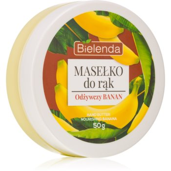 Bielenda Hand Butter Nourishing Banana unt de maini imagine 2021 notino.ro