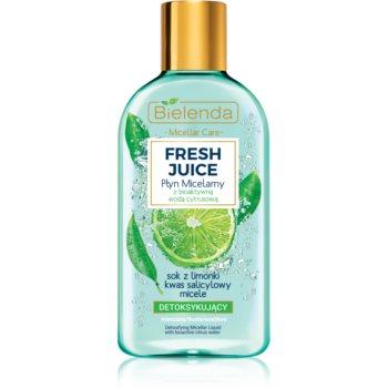 Bielenda Fresh Juice Lime apă micelară pentru piele mixtă și sensibilă imagine 2021 notino.ro