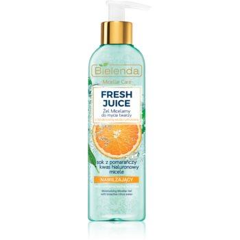 Bielenda Fresh Juice Orange gel de curatare micelar cu efect de hidratare imagine 2021 notino.ro