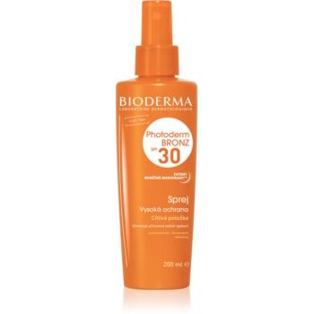 Bioderma Photoderm Bronz SPF 30 spray de protecție pentru a sprijini și de a prelungi bronzul natural SPF 30 imagine 2021 notino.ro