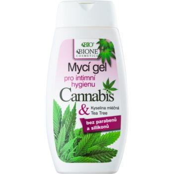 Bione Cosmetics Cannabis gel pentru igiena intima imagine 2021 notino.ro