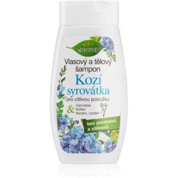 Bione Cosmetics Kozí Syrovátka gel de duș și șampon pentru piele sensibila imagine 2021 notino.ro
