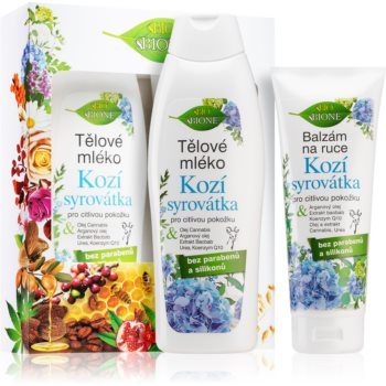 Bione Cosmetics Kozí Syrovátka set de cosmetice pentru femei imagine 2021 notino.ro