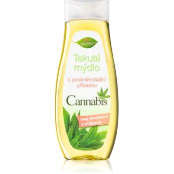Bione Cosmetics Cannabis Săpun lichid pentru mâini antibacterial notino.ro