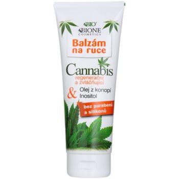 Bione Cosmetics Cannabis Balsam regenerator și hidratant pentru mâini imagine 2021 notino.ro