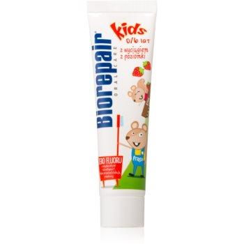 Biorepair Junior Pasta de dinti pentru copii. cu aroma de capsuni imagine 2021 notino.ro