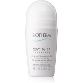 Biotherm Deo Pure Invisible antiperspirant roll-on imagine 2021 notino.ro