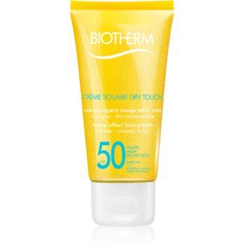 Biotherm Crème Solaire Dry Touch protectie solara mata pentru fata SPF 50 notino.ro