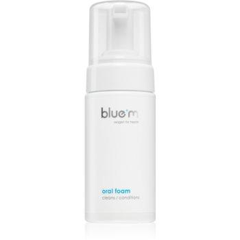 Blue M Oxygen for Health spuma orala 2 in 1 pentru curatarea dintilor si gingiilor, fara ajutorul unei perii si a apei image0