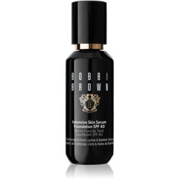 Bobbi Brown Intensive Skin Serum Foundation fond de ten lichid iluminator SPF 40 notino.ro