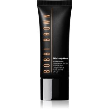 Bobbi Brown Skin Long Wear Fluid Powder Foundation machiaj lichid cu un finisaj mat SPF 20 notino.ro