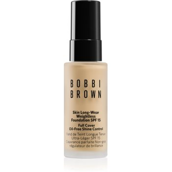 Bobbi Brown Mini Skin Long-Wear Weightless Foundation machiaj persistent SPF 15 imagine 2021 notino.ro