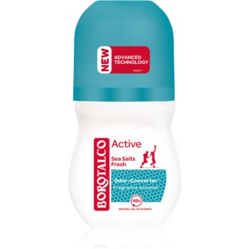 Borotalco Active Sea Salts Deodorant roll-on cu o eficienta de 48 h imagine 2021 notino.ro