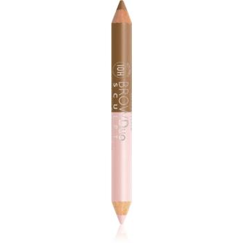 Bourjois Brow Duo Sculpt creion pentru sprancene cu efect de iluminare imagine 2021 notino.ro